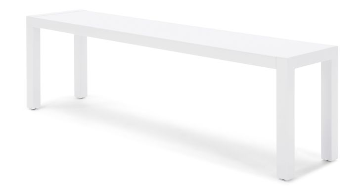 Bramante Large Bench, White
