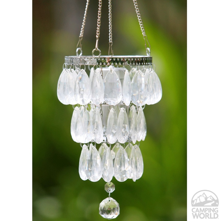 """Camper glam battery powered """"anywhere"""" mini chandelier"""