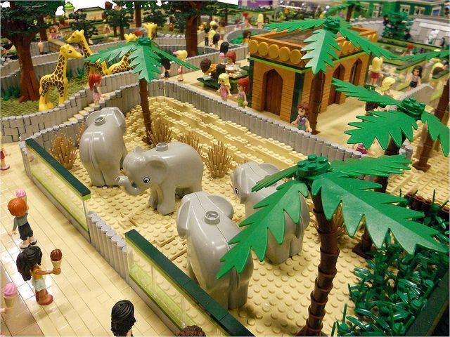 LEGO Friends: Animal Park (With images) | Lego zoo, Lego ...