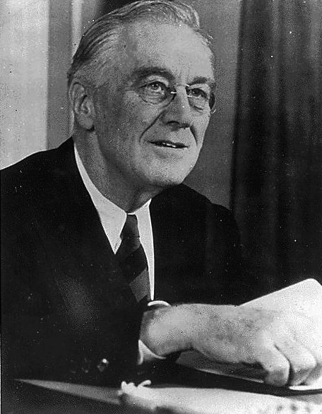 "Roosevelt's ebullient public personality, conveyed through his declaration that ""the only thing we have to fear is fear itself"" and his ""fireside chats"" on the radio did a great deal to help restore the nation's confidence."