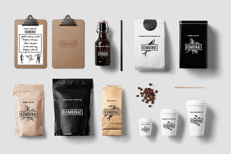 KOMBINAT CAFE & RESTAURANT LOGO DESIGN on Behance