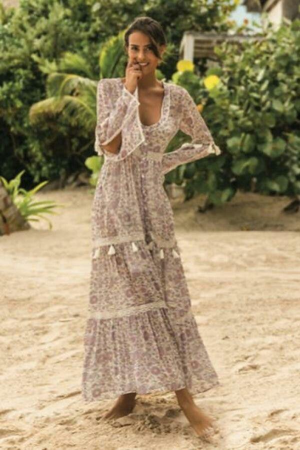 3b85c841dfed4 Boho... | Mode | Bohemian chic fashion, Hippie, Hippie style summer