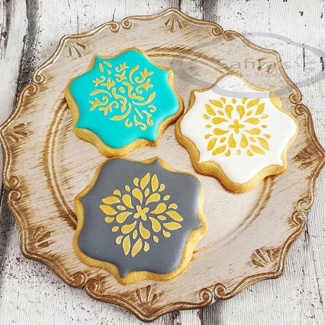 Eid Cookies - Ramadan cakes stencils available at Stenciland shop on Etsy OR at…