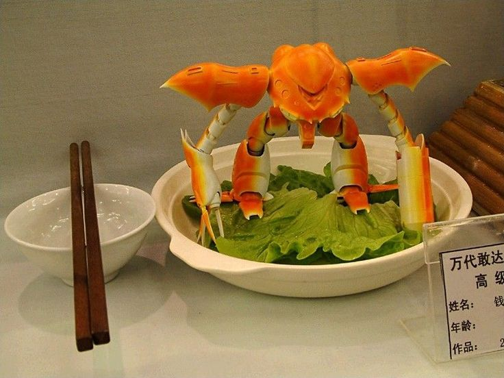 sometimes, fred tries to chew the crab claws he finds on the street when we walk by asian supermarkets. this would be very appropriate.