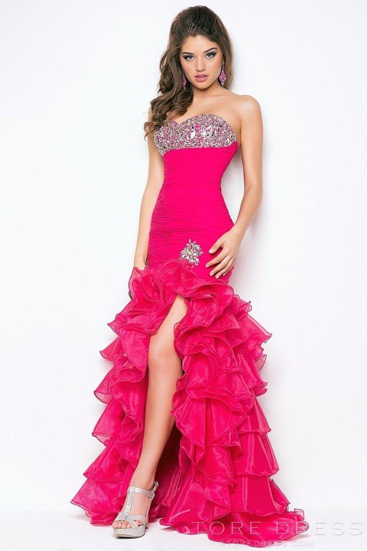 59 best Prom Dresses images on Pinterest | Rüschen, Abendkleider und ...