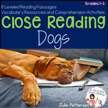 Close reading is a key component of the Common Core Standards. It  is the active and analytic reading and re-reading of text to gather meaning. This reading and re-reading of text leads to higher level thinking skills and a deeper level of reading comprehension.