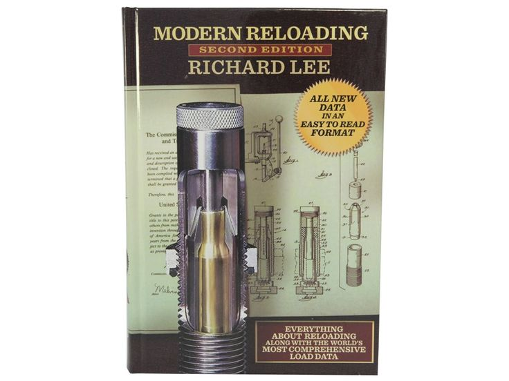 """Product detail of Lee """"Modern Reloading 2nd Edition, Revised"""" Reloading Manual"""