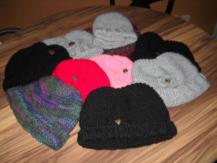 2016 Automne 15 bonnets et 4 foulards