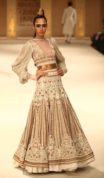 Rohit Bal bridal colletion at Lakme Fashion Week