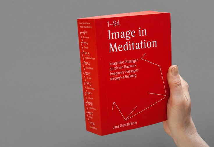 Image in Meditation - Claudia Siegel / typografische Gestaltung