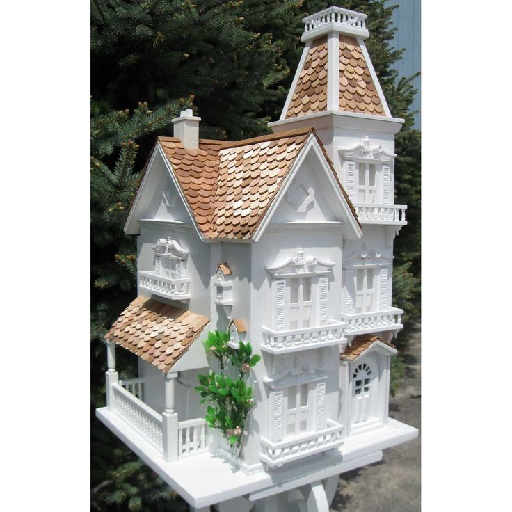 Victorian Backyard Birds : roof trailers style yards bird houses painted birds house search birds