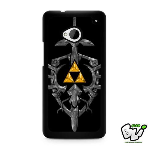 Zelda Black Gold Triforce HTC G21,HTC ONE X,HTC ONE S,HTC M7,M8,M8 Mini,M9,M9 Plus,HTC Desire Case