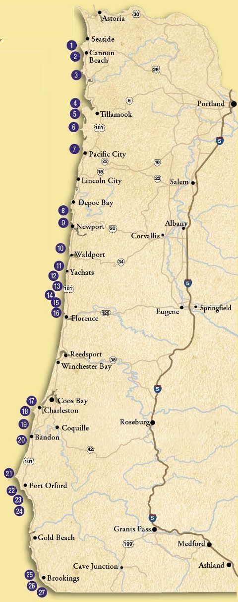 Best 25 Oregon map ideas on Pinterest Oregon road trip Oregon