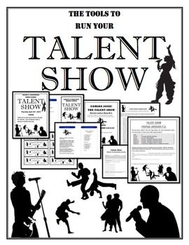 This is a complete kit with tips to run your School Talent Show.Here is what you get in the Talent Show kit which is in Microsoft Word and is easily editable to adjust to your school or event:1.  Talent Show Audition Rubric2.  Talent Show Pamphlet3.  Talent Show Permission Slip 4.
