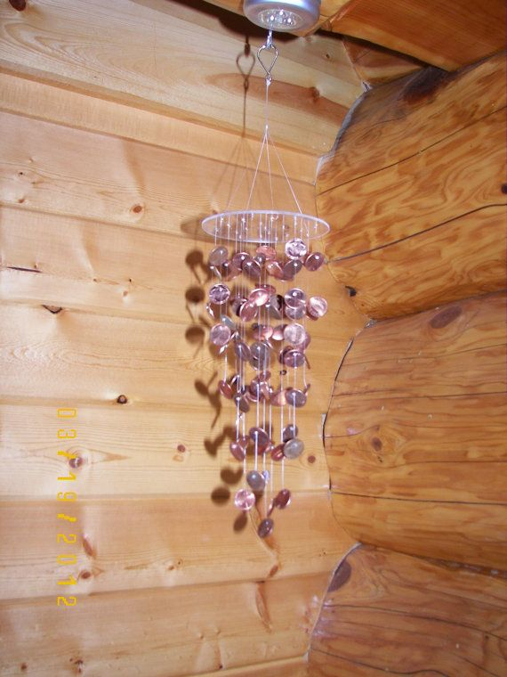 Small Penny Mobile/Windchime by MobileMadness on Etsy