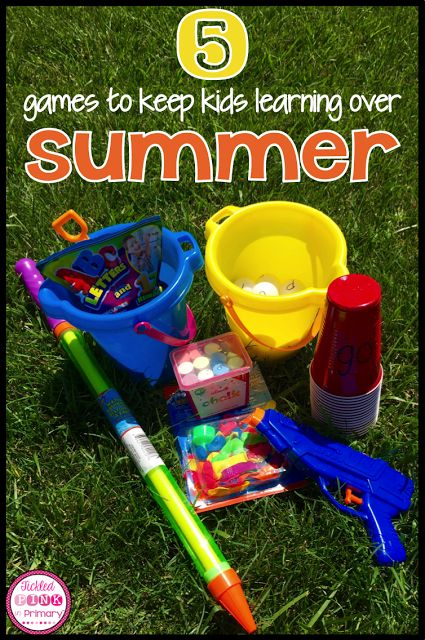 5 Fun Cheap Games To Keep Kids Learning This Summer Can Be Adapted For Any Basic Skill