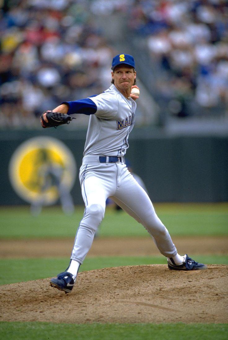 Randy Johnson Seattle Mariners Baseball Pitcher Baseball Mariners Baseball