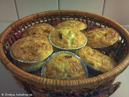 Recept - LCHF Matmuffins