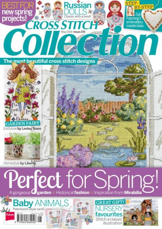 Cross Stitch Collection Issue 235 May 2014 Zinio Patterns pinned