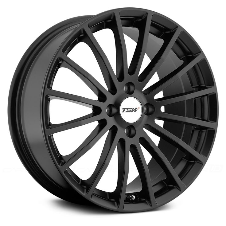 TSW® MALLORY Wheels - MATTE BLACK Rims