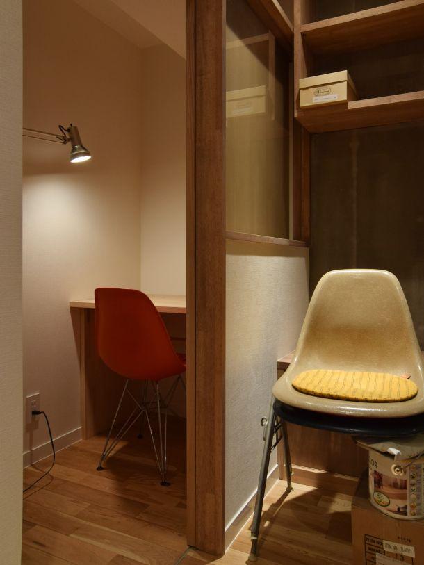 棚の家 元押し入れを作業スペースにリノベーション インテリア / リノベーション / リフォーム / アトリエ
