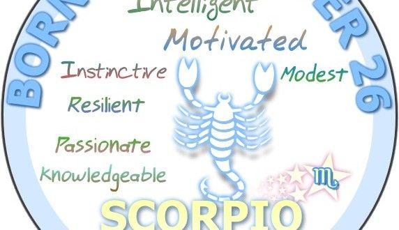 October 26 Birthday Horoscope Personality ~  Happy Birthday Tony , today is your day , enjoy.