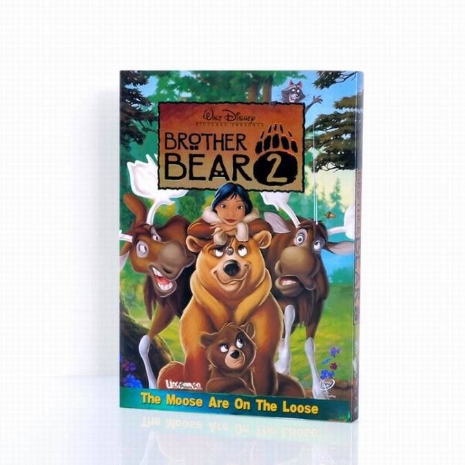 brother bear ② Disney DVD,Wholesale disney DVD,Disney DVD,Disney Movies,Disney  DVD Movies,wholesale disney movies,order disney dvd,buy disney dvd,hot selling disney dvd,cheap disney dvd,popular disney dvd,kids disney dvd,child disney dvd,baby disney,animation disney dvd,walt disney dvd,$2.8-3.8/set,free shipping (5-7days delivery),accept PAYPAL.