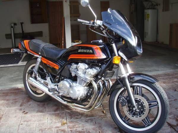 Classic 1981 Honda CB 750F Super Sport   Vintage bikes ...