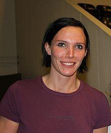 Handball player Katja Nyberg