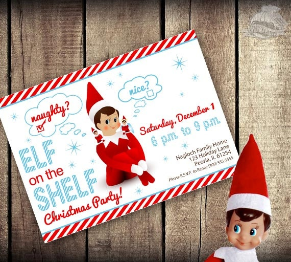 Elf on the Shelf Inspired Theme - Do-it-yourself PRINTABLE ...