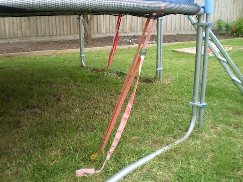 How to Secure a Trampoline for High Winds