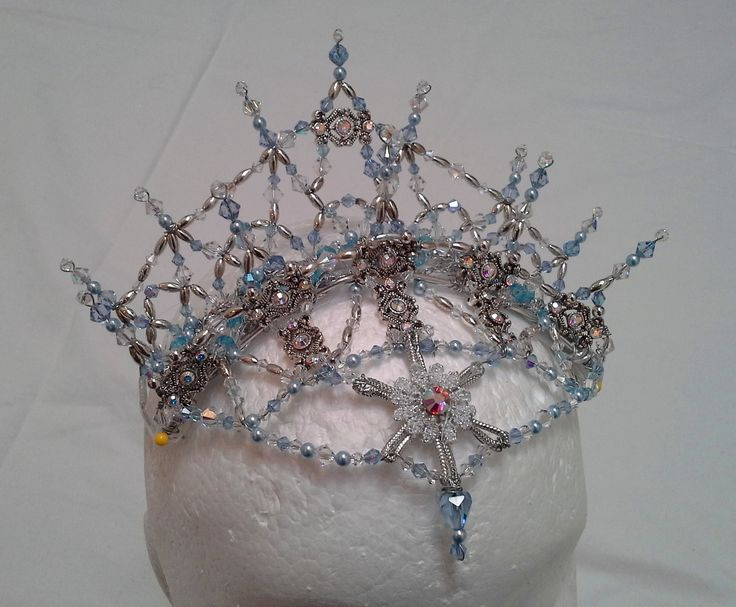 Nutcracker Snow Queen Headpiece Designed and made by Teri McGarry