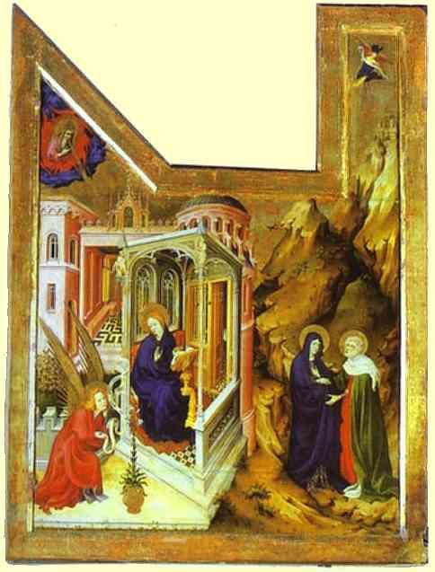 Брудерлам, Мельхиор (BROEDERLAM, Melchior) (Ок. 1328—1409) - «The Dijon Altarpiece» (1393-99, Musйe des Beaux-Arts, Dijon)