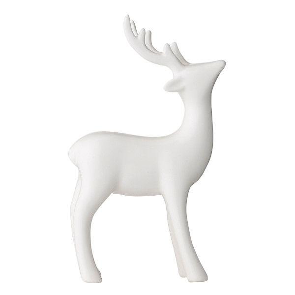 White Porcelain Reindeer 22 Liked On Polyvore