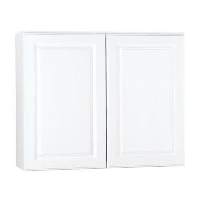 Hampton Bay 36x30x12 In Hampton Wall Cabinet In Satin