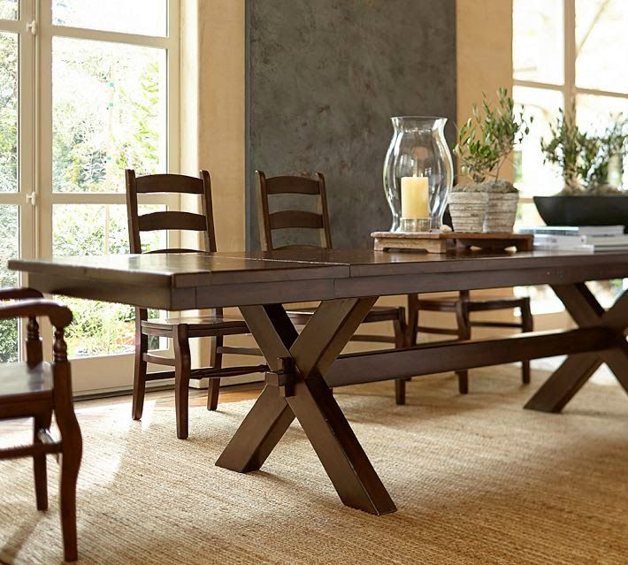 Toscana Extending Dining Table 60 X Alfresco Brown Finish