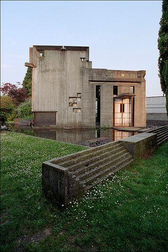 San Vito d'Altivole (Tv), tomba Brion (Carlo Scarpa, 1969-78)
