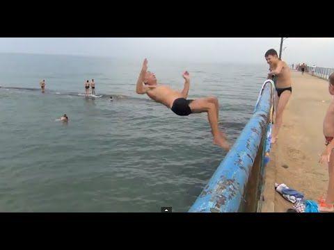 Крым Феодосия поселок Приморский отдых на пляже