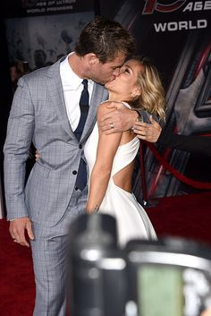 And Chris Hemsworth and Elsa Pataky, who are pretty much permanently attached to each other. | 28 Celebrity Couples Who Will Restore Your Faith In Romance