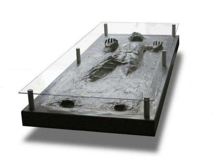 Carbon Freeze P - I know that Han Solo was captured and frozen in Carbonite, but what I don't get is why Jabba the Hutt never bothered making him a table like t...