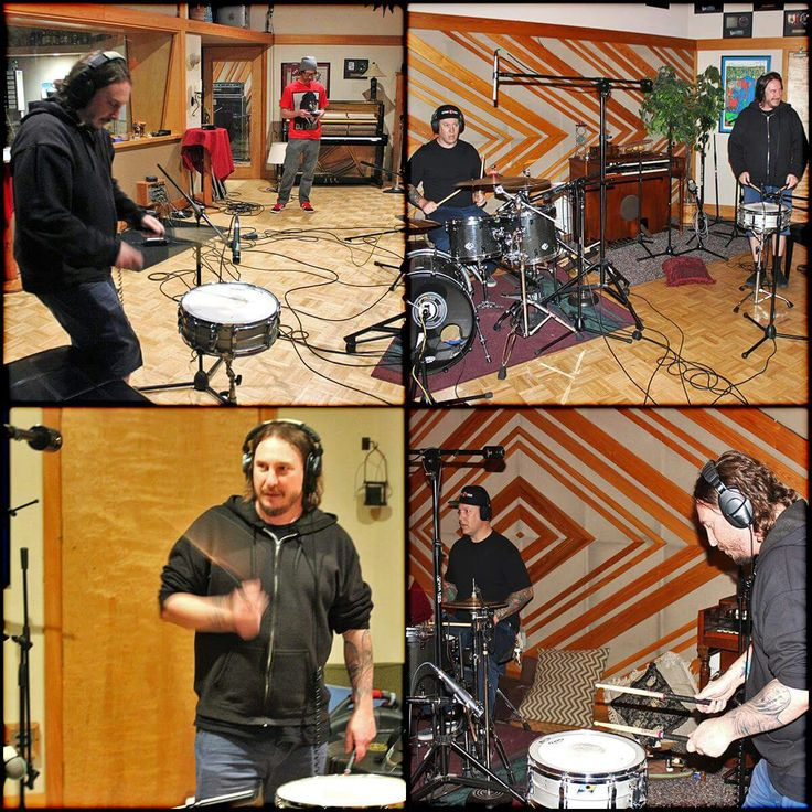 """Another Deftones member - Abe Cunningham collaboration for new forthcoming Will Haven album titled """"Muerte"""". Will Haven' new album due out in this summer also feature  Deftones' Stephen Carpenter guest appearance on the song 'The Sun'. At recording studio at Pus Cavern 3 in Sacramento, CA on March 21-23, 2017"""