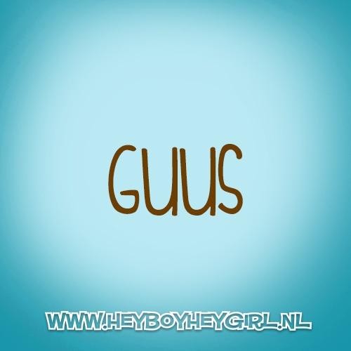 Guus (Voor meer inspiratie, en unieke geboortekaartjes kijk op www.heyboyheygirl.nl)