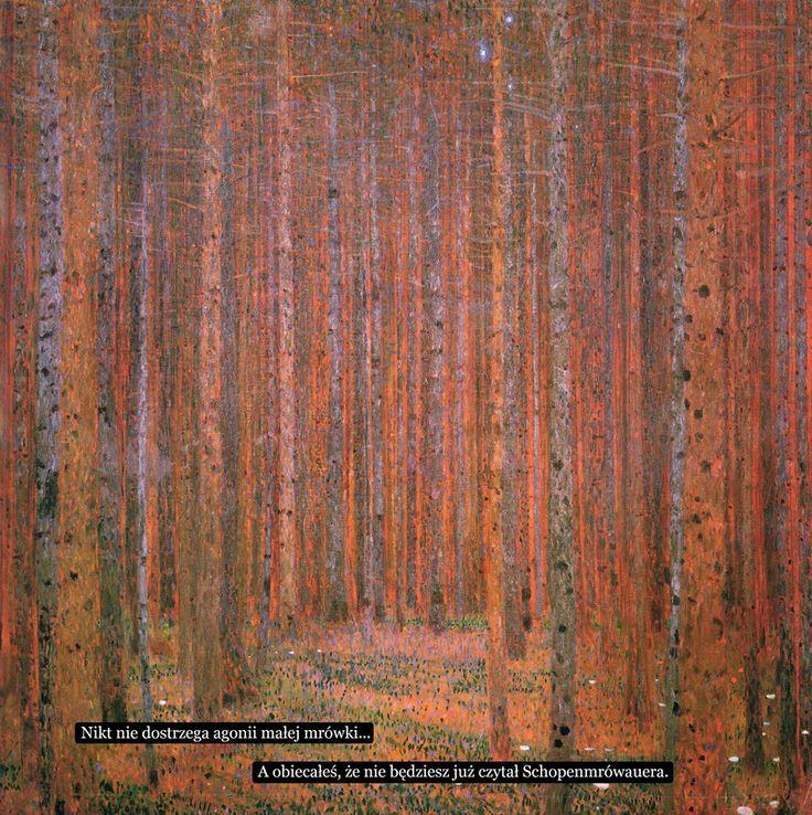 Sztuczne Fiołki, Gustav Klimt
