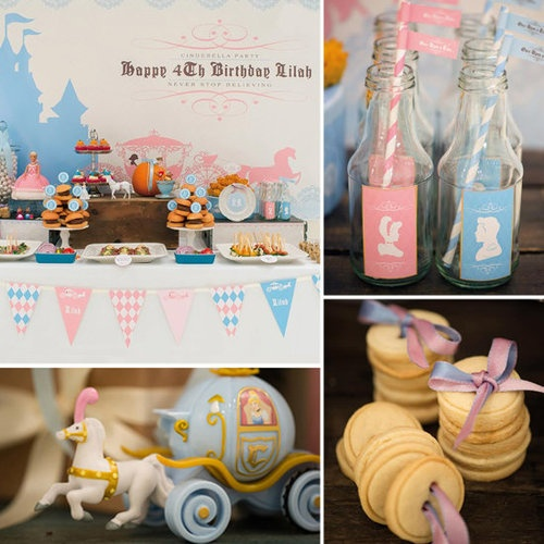 Cinderella birthday party. Omg @Julianna Fritz we have to do this!