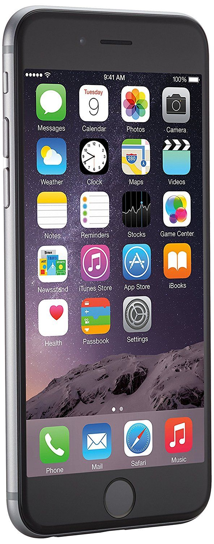 Apple iPhone 6 Space Grau 16GB SIM-Free Smartphone (Zertifiziert und Generalüberholt) EUR 299,90