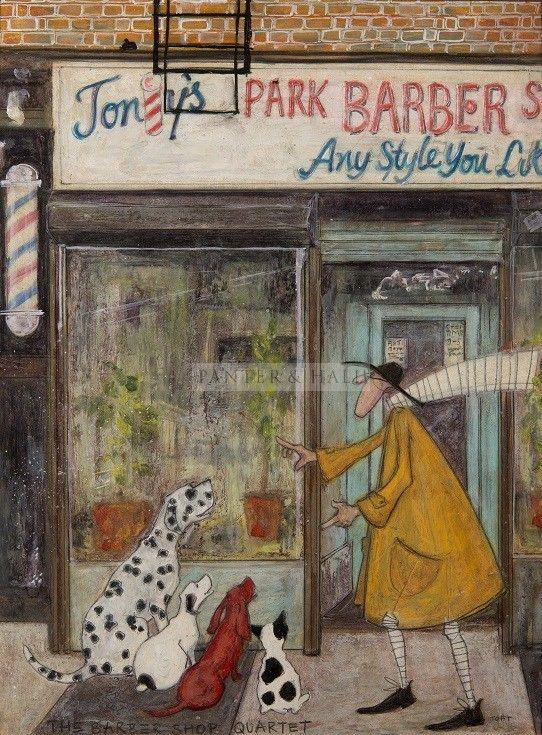 Sam Toft The Barber Shop Quartet