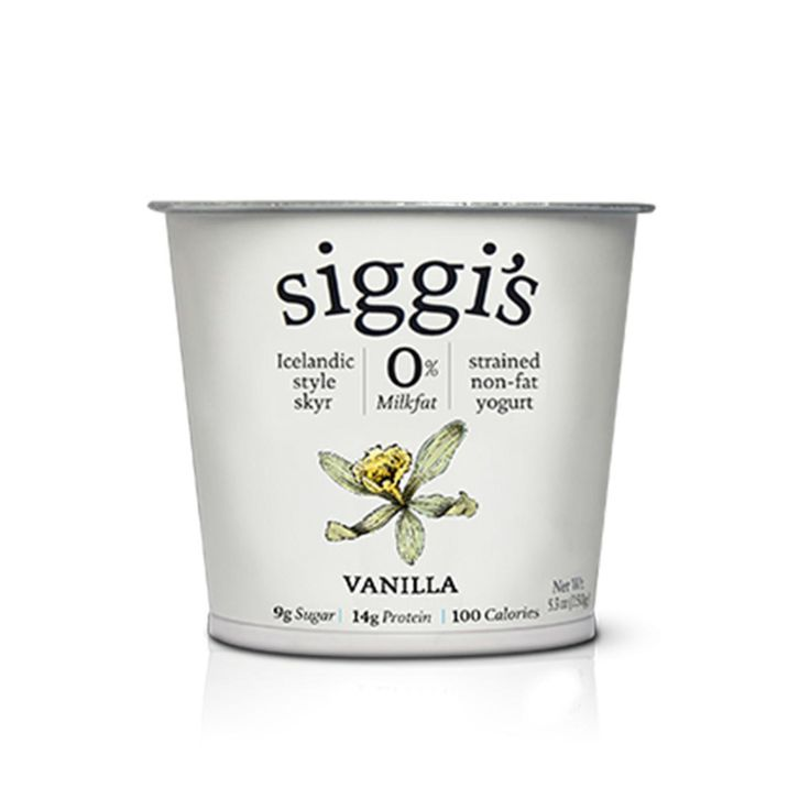 Siggi's Vanilla Non-Fat Yogurt - Fitnessmagazine.com