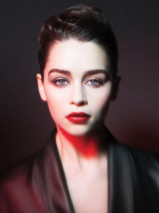 Emilia Clarke by Gavin Bond