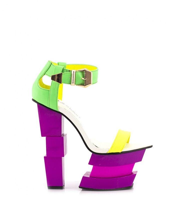 Różowe Sandały Pink Sandals Lego - born2be.pl