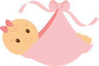 Adorable baby clipart